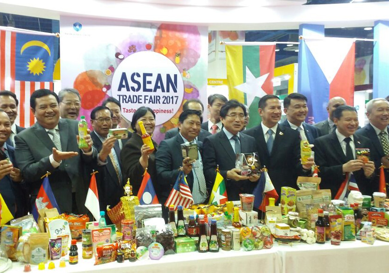 2017 ASEAN Trade Fair showcases F&B products