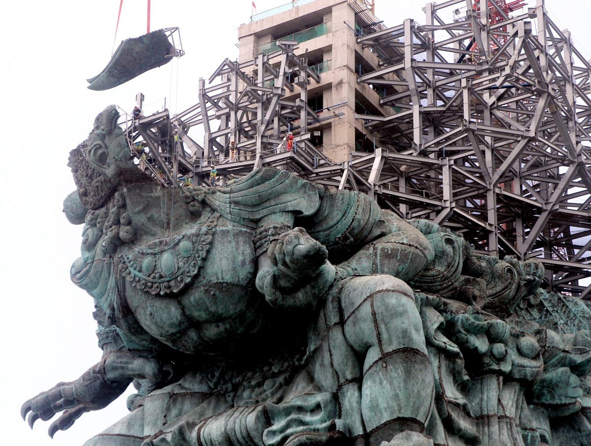 GWK: World's largest statue to be completed in August 2018