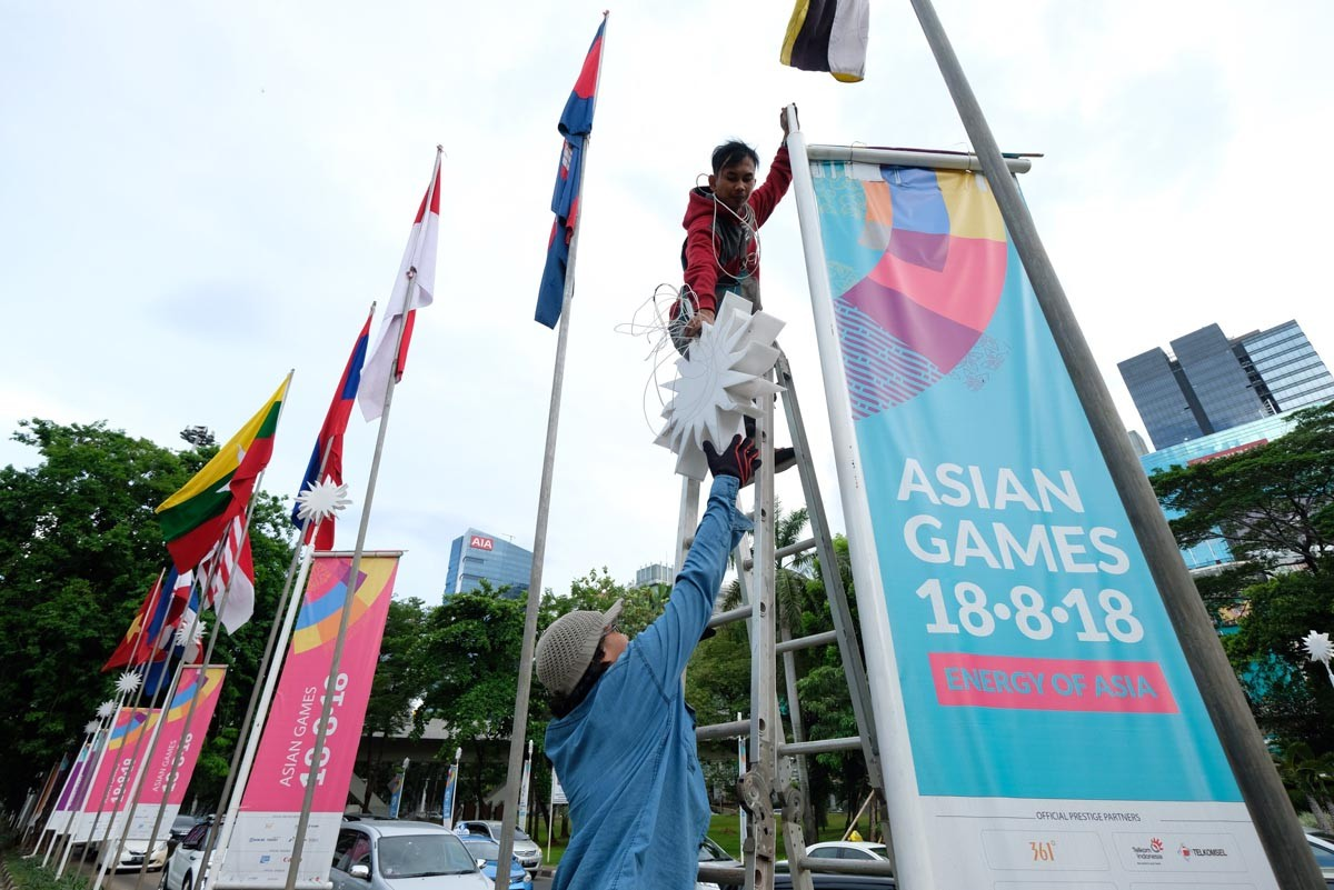 Jakarta security beefed up ahead of Asian Games