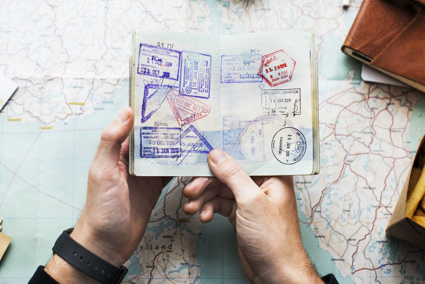 Passport stamps becoming a thing of the past - News - The Jakarta Post