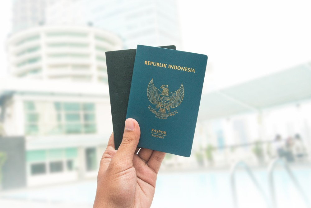 I used my powerless Indonesian passport to apply for UK visa