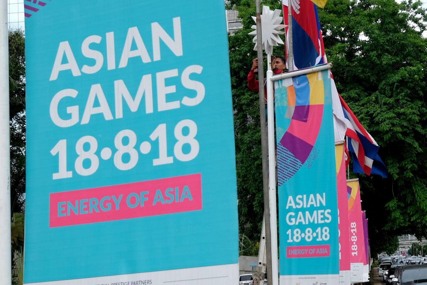 Jakarta agency scouts malls, buildings for Asian Games parking lots