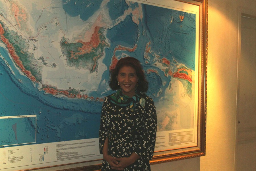 Susi: Indonesia must boost its naval defense system