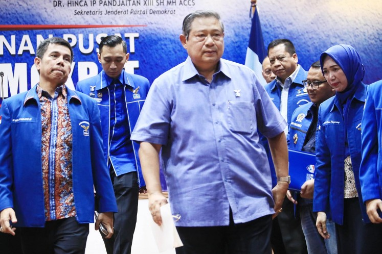 Yudhoyono pledges support for Jokowi, reminds him winner does not 'take it all'