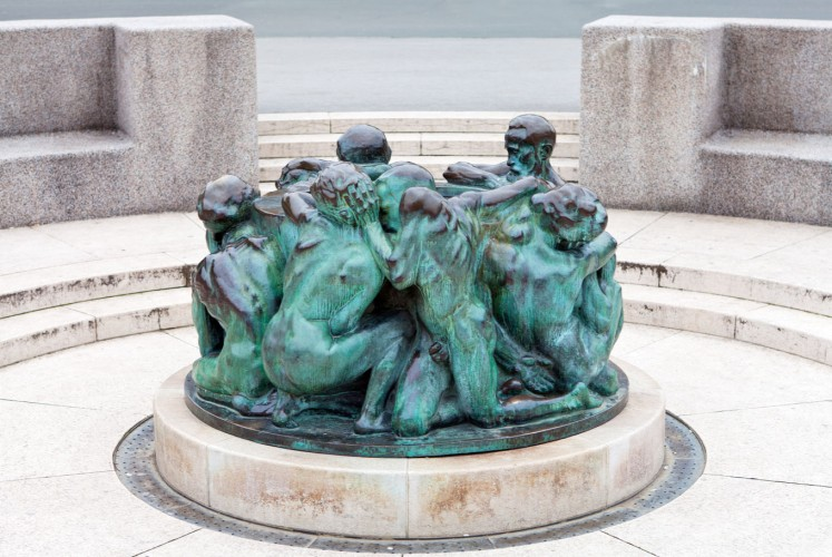 Zest for life: The Well of Life, located in front of the National Theatre, is one of Croatian sculptor Ivan Mestrovic's most popular works.