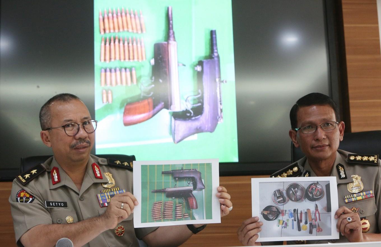 West Java Police arrest three over terror plot