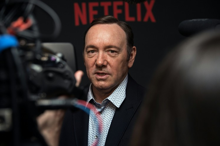 UK theater cites 20 'inappropriate behavior' claims against Spacey