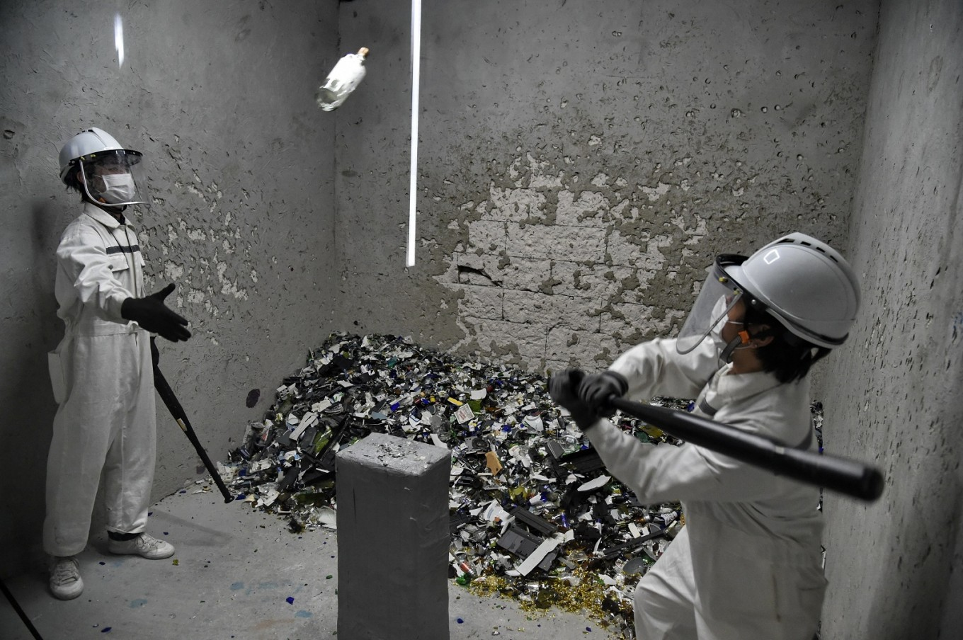 Singaporeans with appetite for destruction get 'rage room' relief