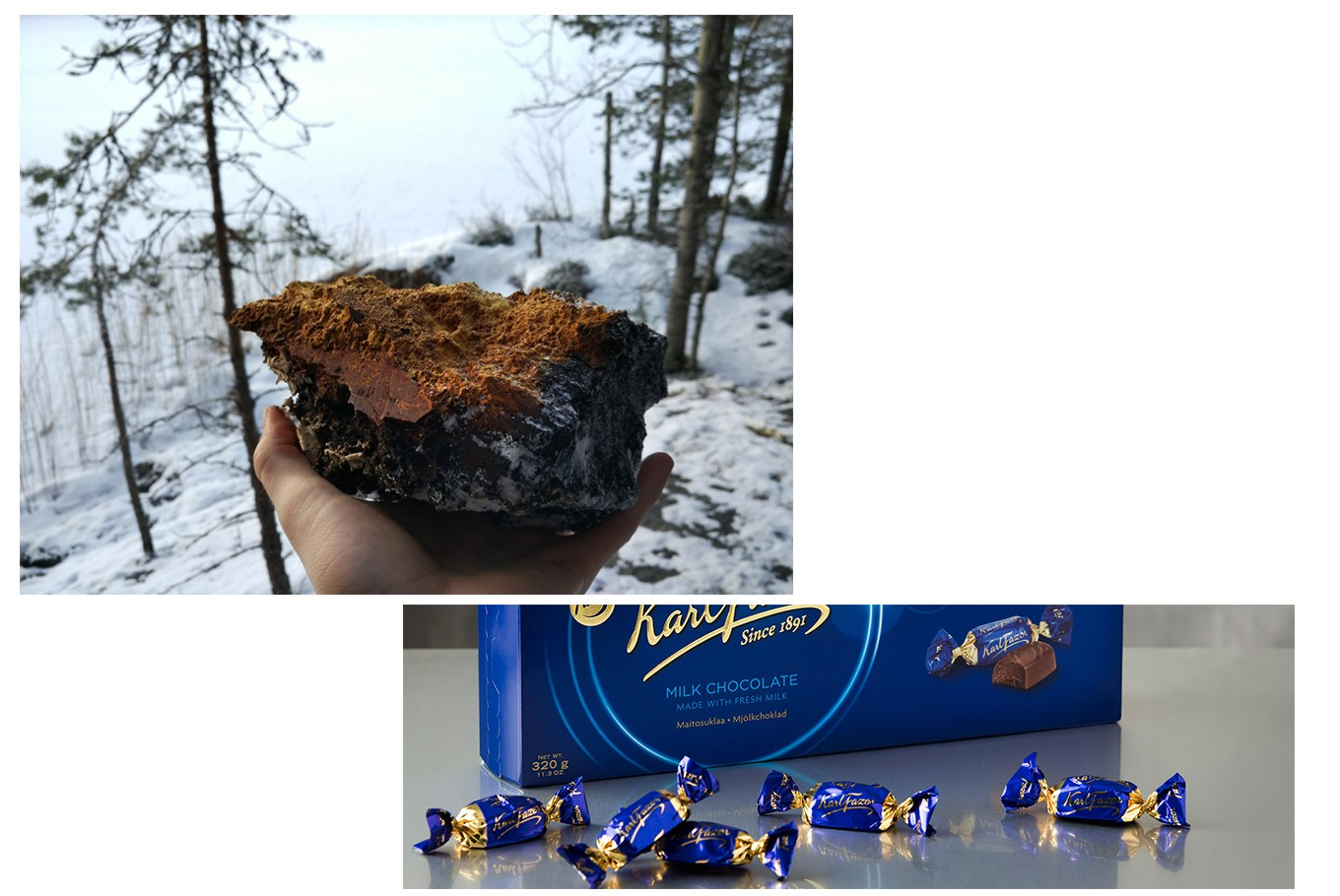 FINLAND - Drink: I always bring chaga mushrooms… a fungus found primarily on birch trees in colder climates across the Northern Hemisphere. They can be boiled and used as a cold or hot drink. I like it because its health benefits are plentiful, many of which can be attributed to its immune-boosting ingredients and antioxidants. I think the only place to find it is Finland, so one needs to travel there to have it–but it is worth the trip. I have offered this drink to many of my Indonesian friends who absolutely loved it and said that it made them feel healthier. <br><br> Eat: I usually bring some chocolate made by Karl Fazer (fazer.com), which is a confectionary established in Helsinki in the late 19th century. The taste of Fazer's iconic Blue Wrapper milk chocolate is sensational! One can find Fazer products at all in international airports, including Soekarno-Hatta airport. (Pirjo-Liisa Heikkilä, Political Counsellor, Embassy of Finland)