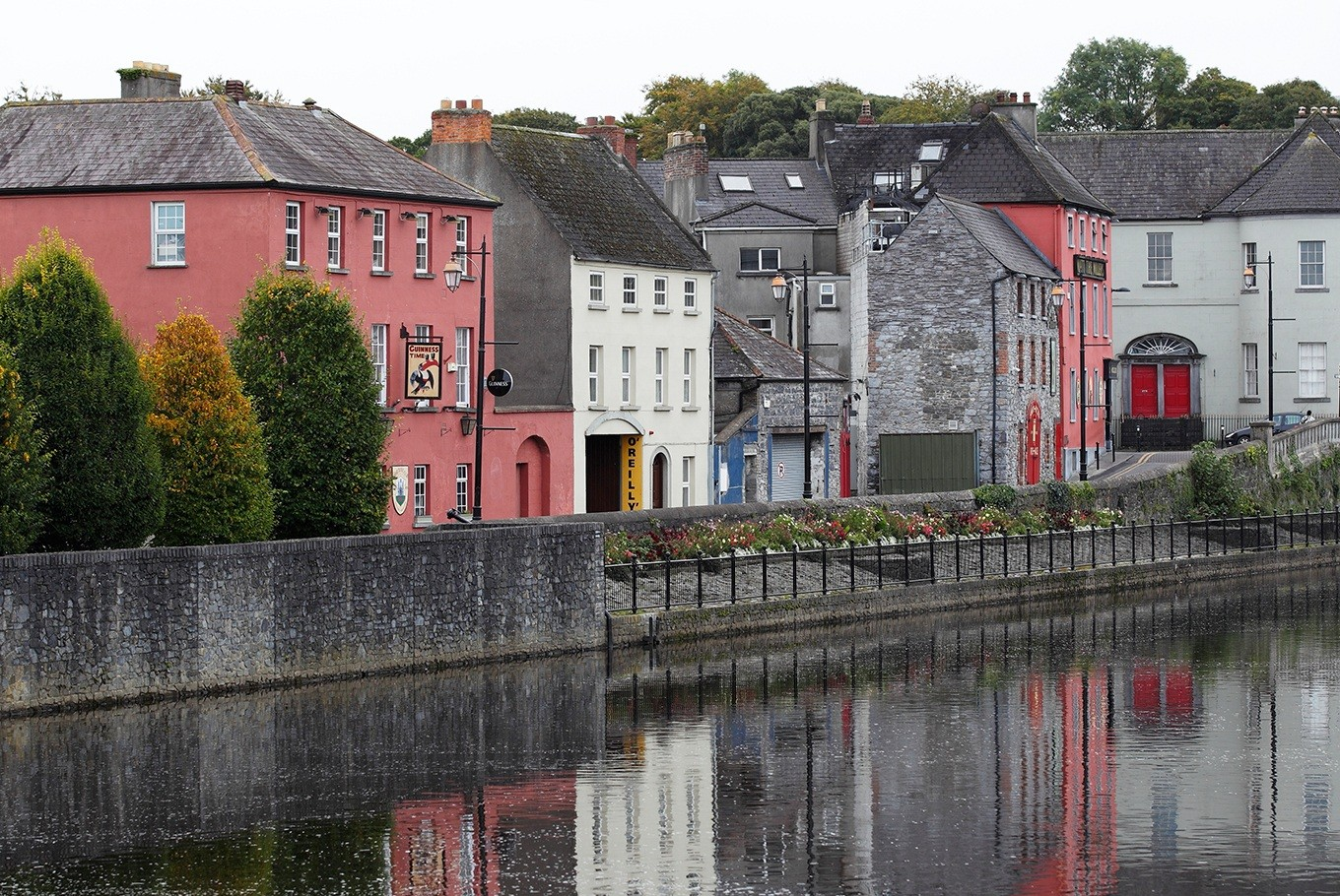 On the banks of the Nore River, notebook and pen in hand, I stood in the shadow of a 13th century castle in the city of Kilkenny.