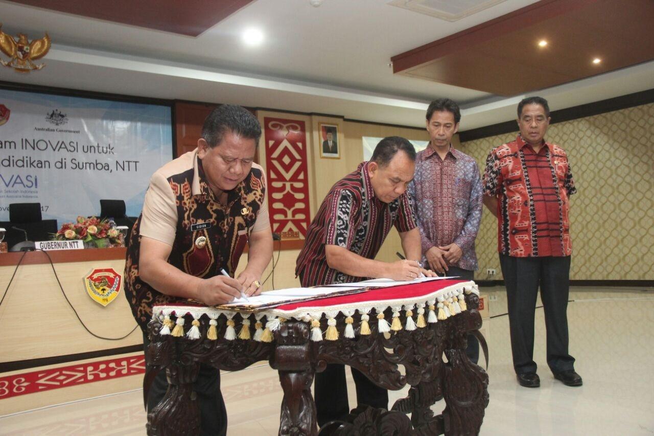Australia helps improving education in East Nusa Tenggara