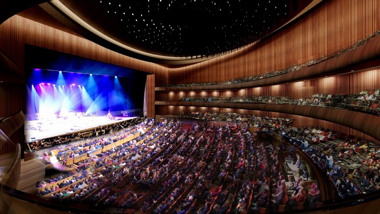 The 2,500-seat opera house, due to open in early 2019, will be built on the site of the Ataturk Cultural Centre (AKM) which has been unused for over a decade and whose impending demolition has worried some architects.