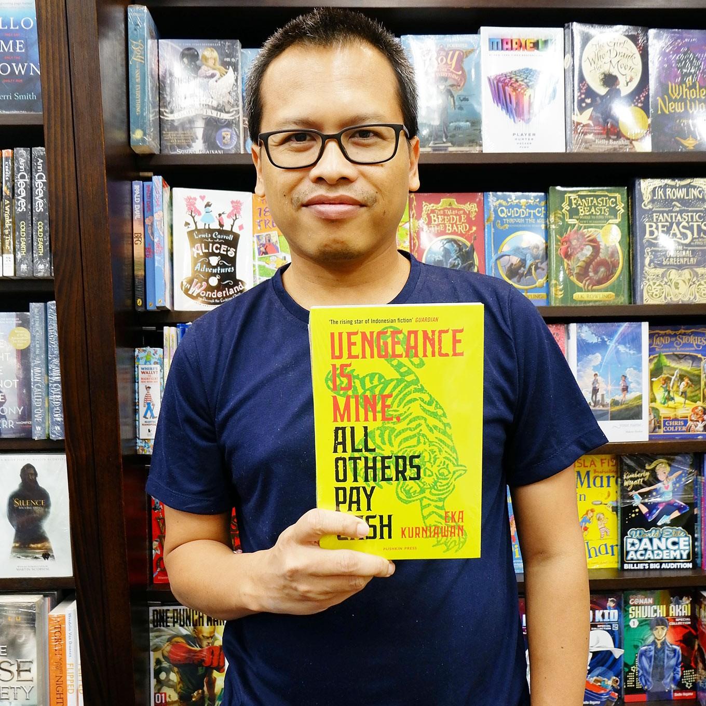 Eka Kurniawan: Writing fearlessly