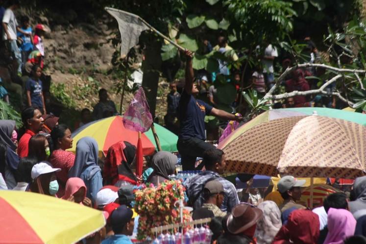 Jatinom's sebar apem Yaaqowiyyu tradition
