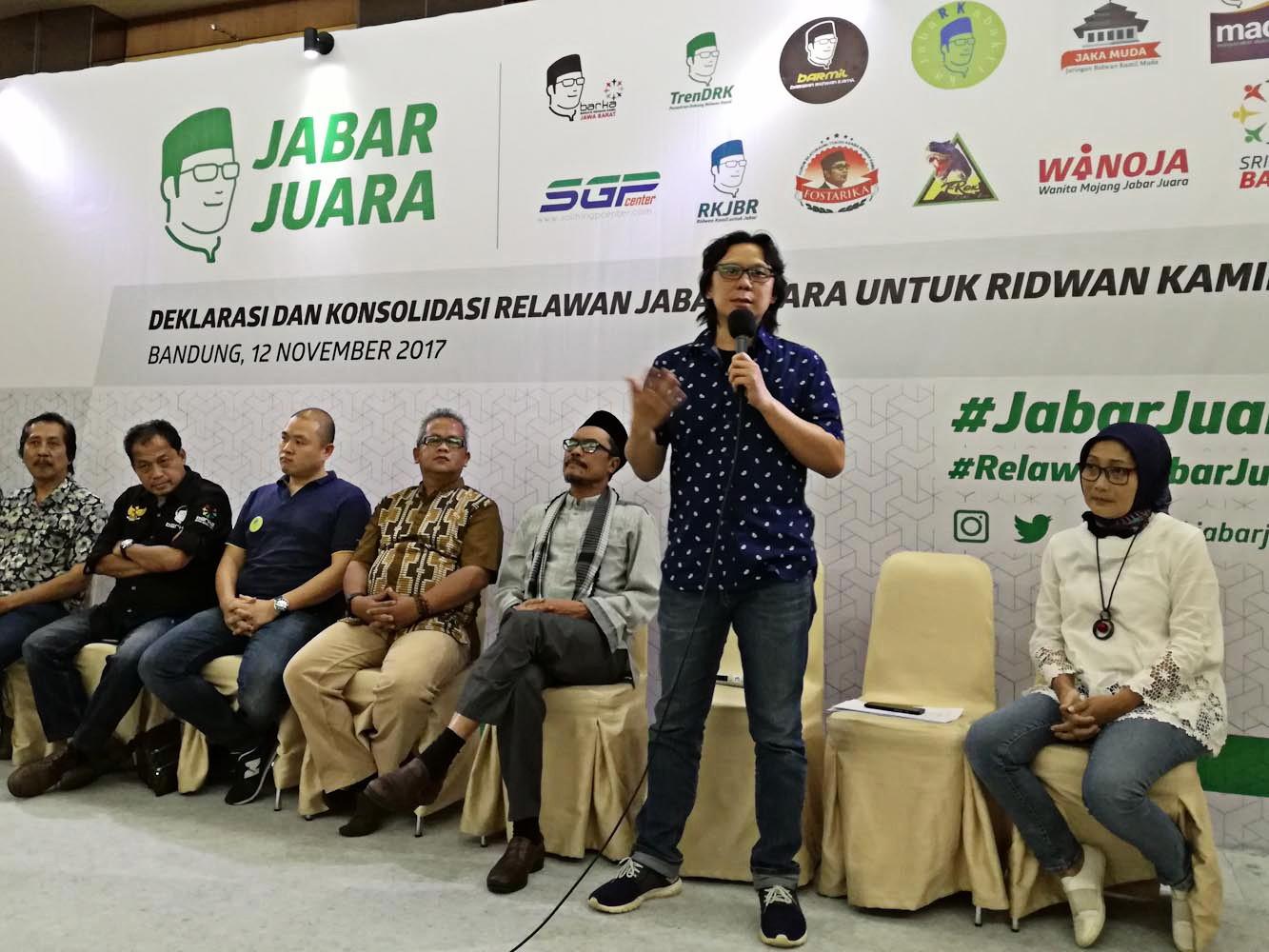 Crowdfunding launched for Bandung Mayor's W. Java governor bid