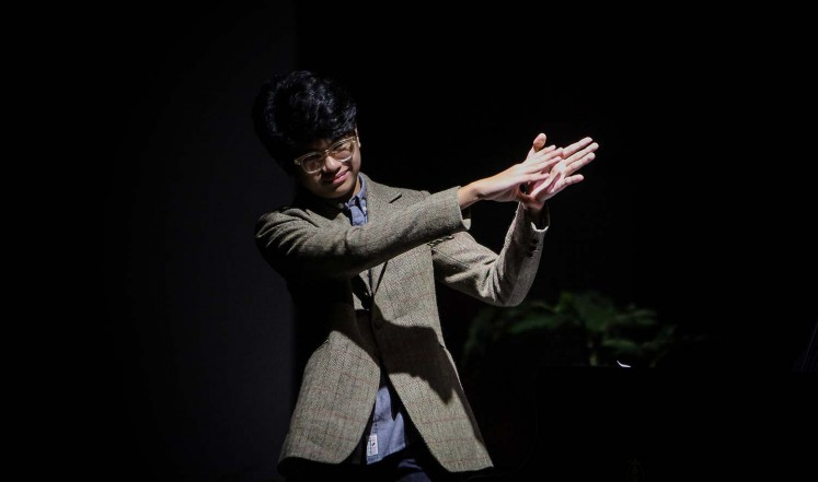 Joey Alexander held a concerted titled