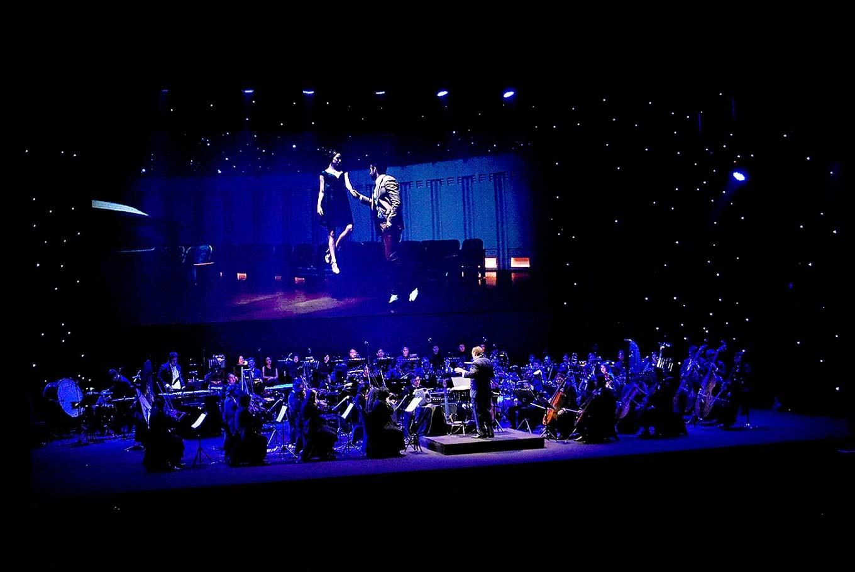 La La Land in concert enlivening the night