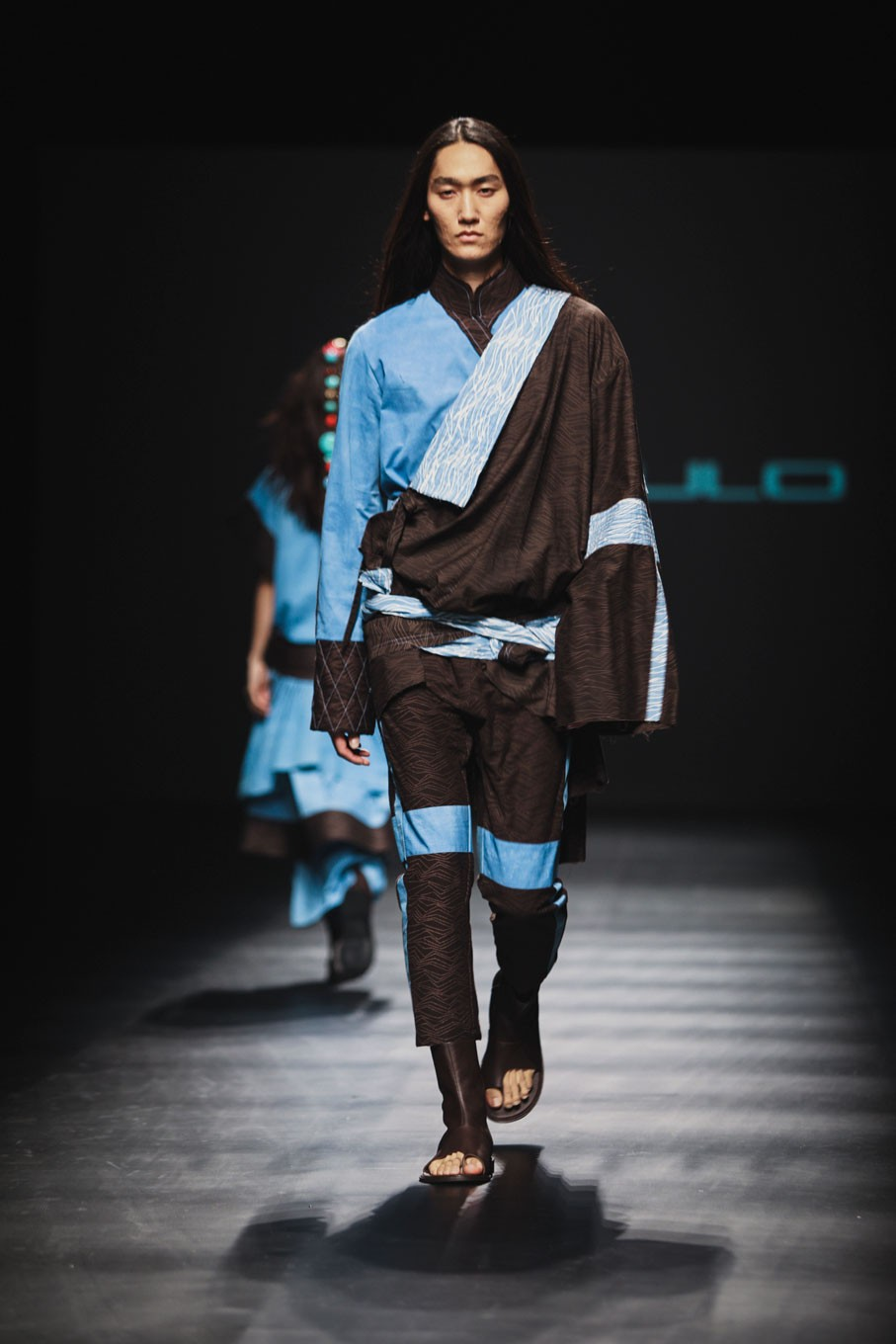 Comprising both men's and women's wear, each item was inspired by the land and scenery, as well as the culture and people of Mustang.