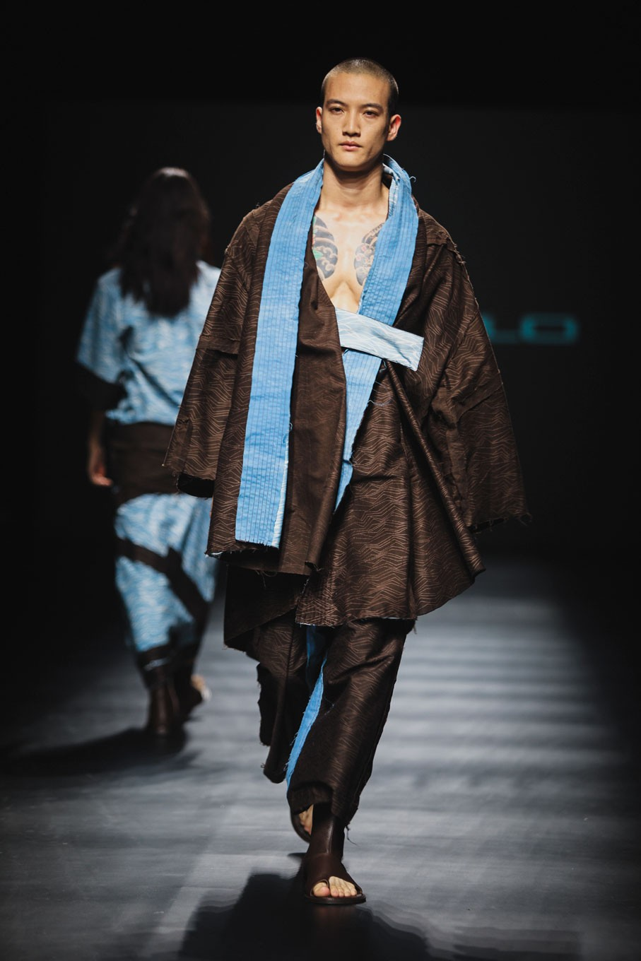 The line was inspired by the lost Tibetan Kingdom of Mustang and first showcased at the 2017 Amazon Fashion Week Tokyo, in October.
