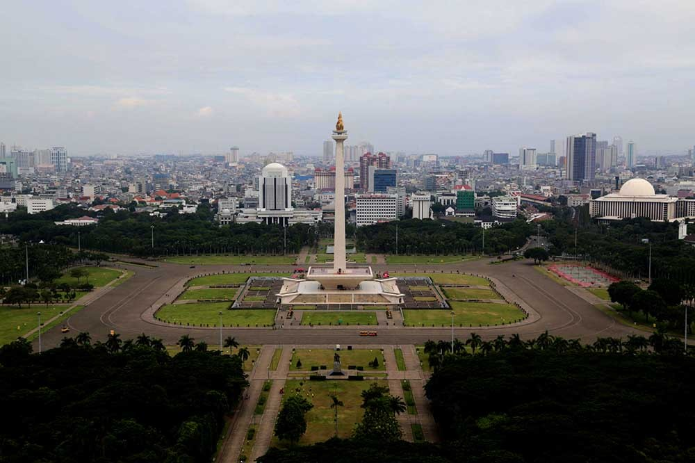 Anies officially opens Monas for public activities