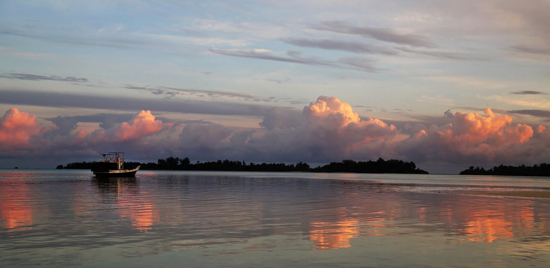 Break of dawn: Fisherman start their day early during the recent Widi International Fishing Tournament (WIFT) 2017. JP/ PJ Leo