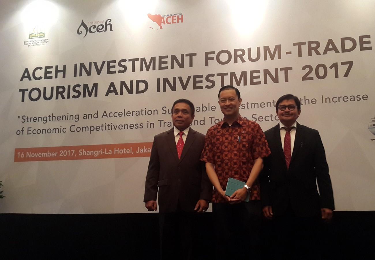 Aceh Investment Forum 2017 kicks off