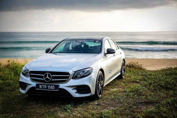 Mercedes Benz E350 e Hybrid: Taking care of the driver, by design