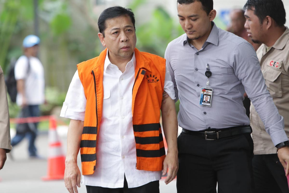 Setya's graft trial to start next Wednesday