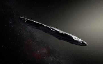 Researchers spot interstellar visitor