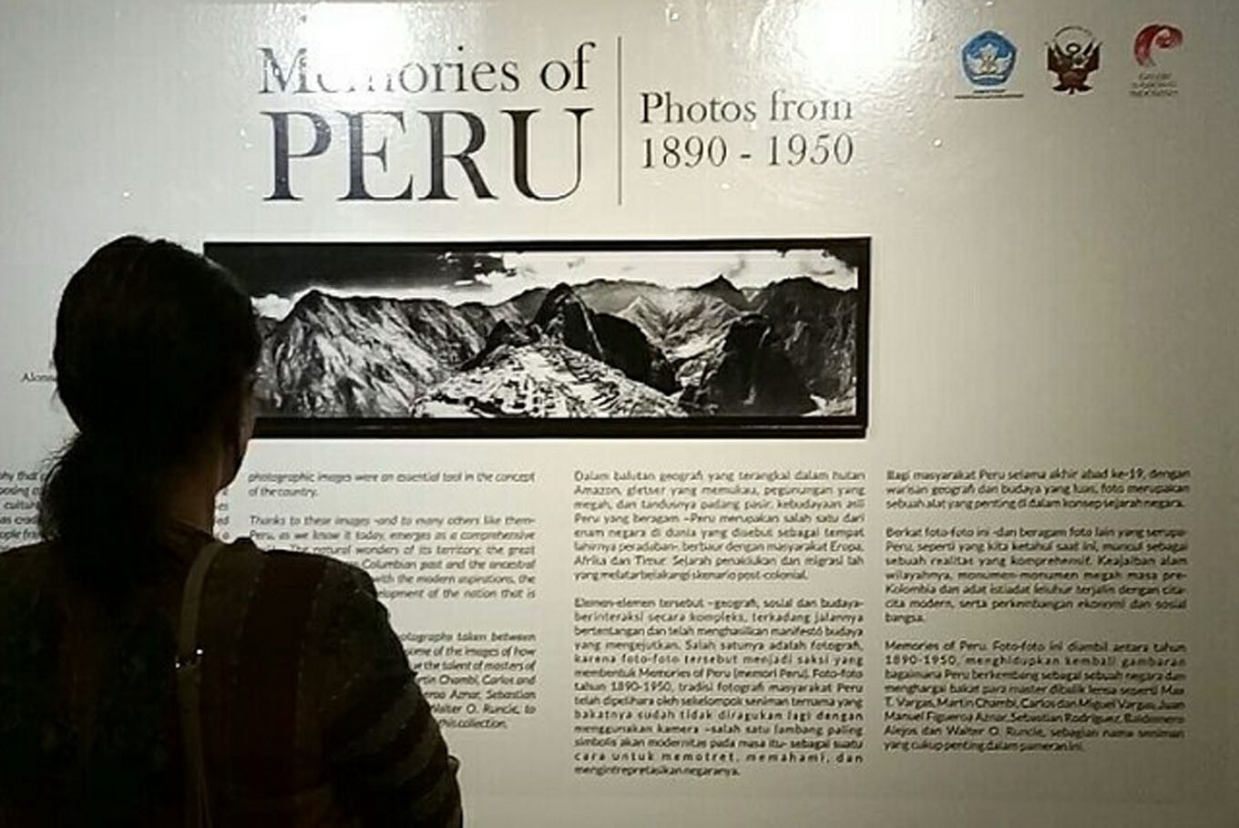 National Gallery photo exhibition spotlights Peru's history