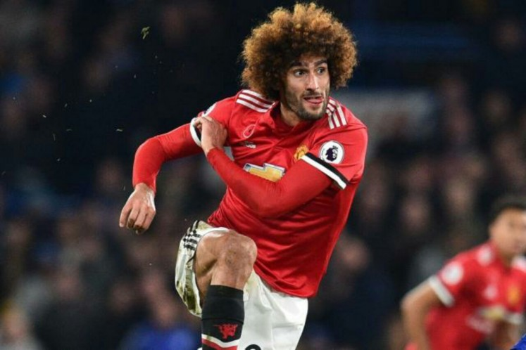 Marouane Fellaini is expected to frustrate Paul Pogba in the semifinal match on Tuesday