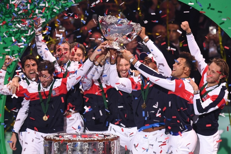Pouille powers France to Davis Cup glory