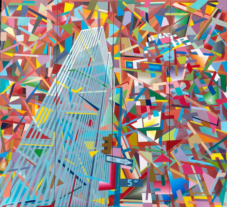 5th Avenue (2003) by Made Wianta