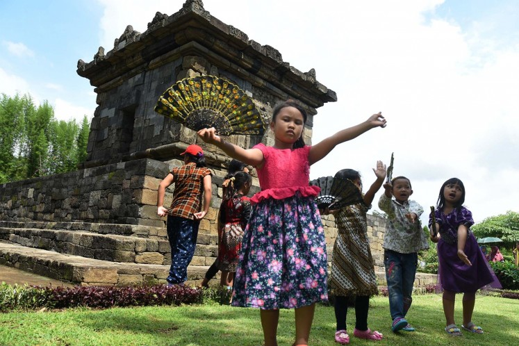 Traditional games help children build character