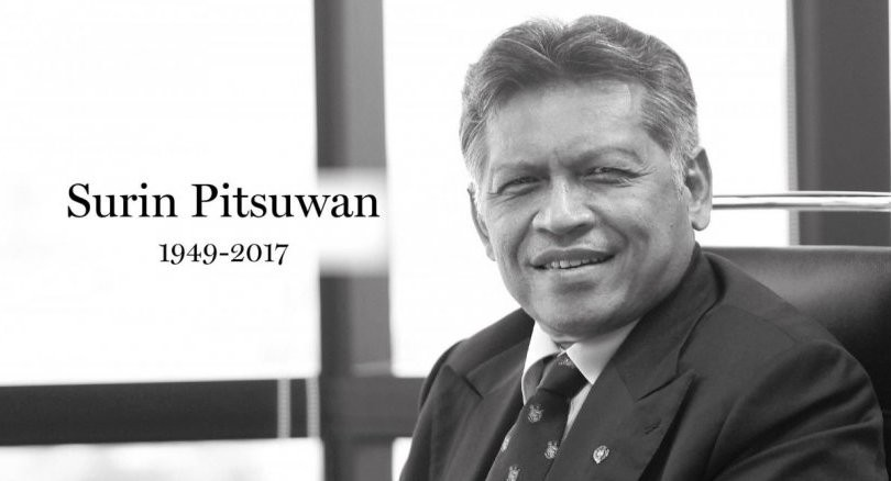 Thailand's former foreign minister Surin Pitsuwan dies at 68