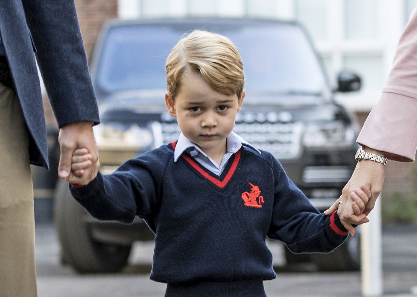 As Britain's Prince George turns 7, parents share new photos