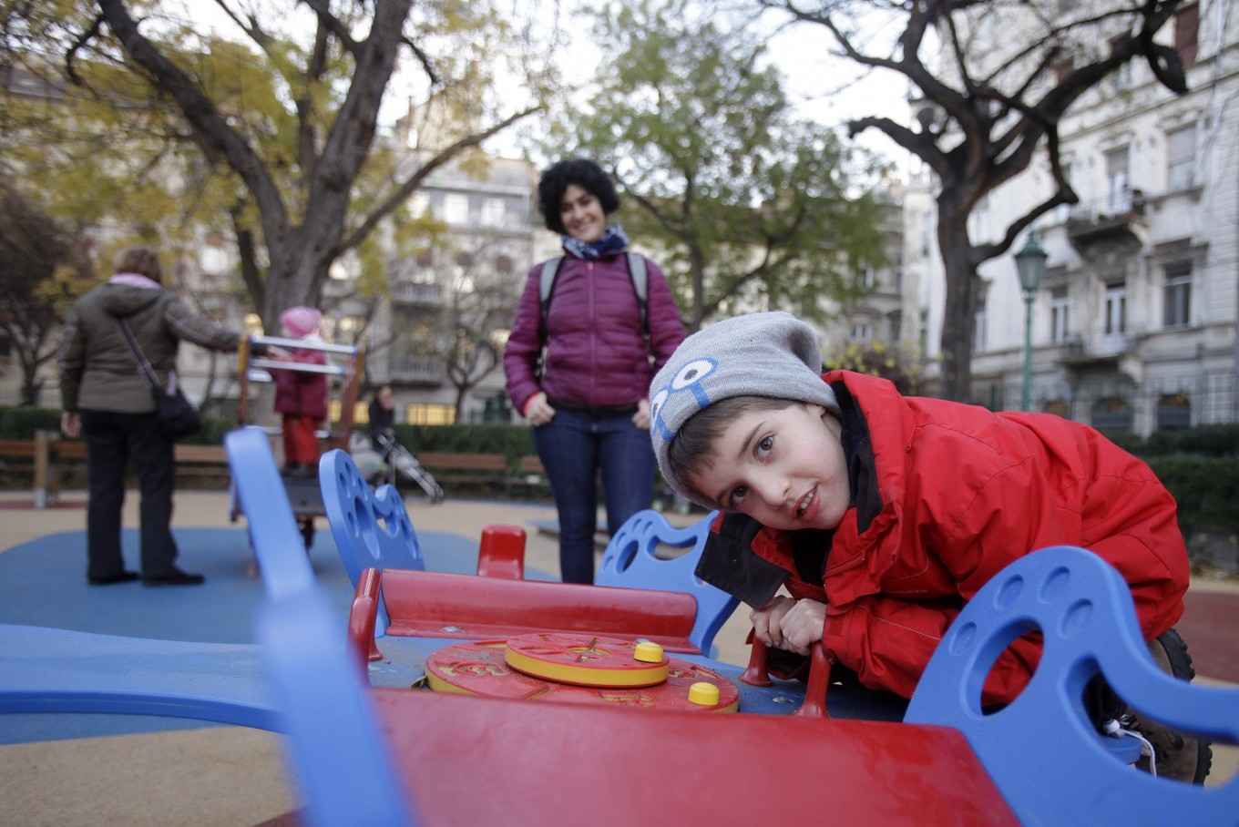 'Inclusive' Hungary playgrounds for disabled kids