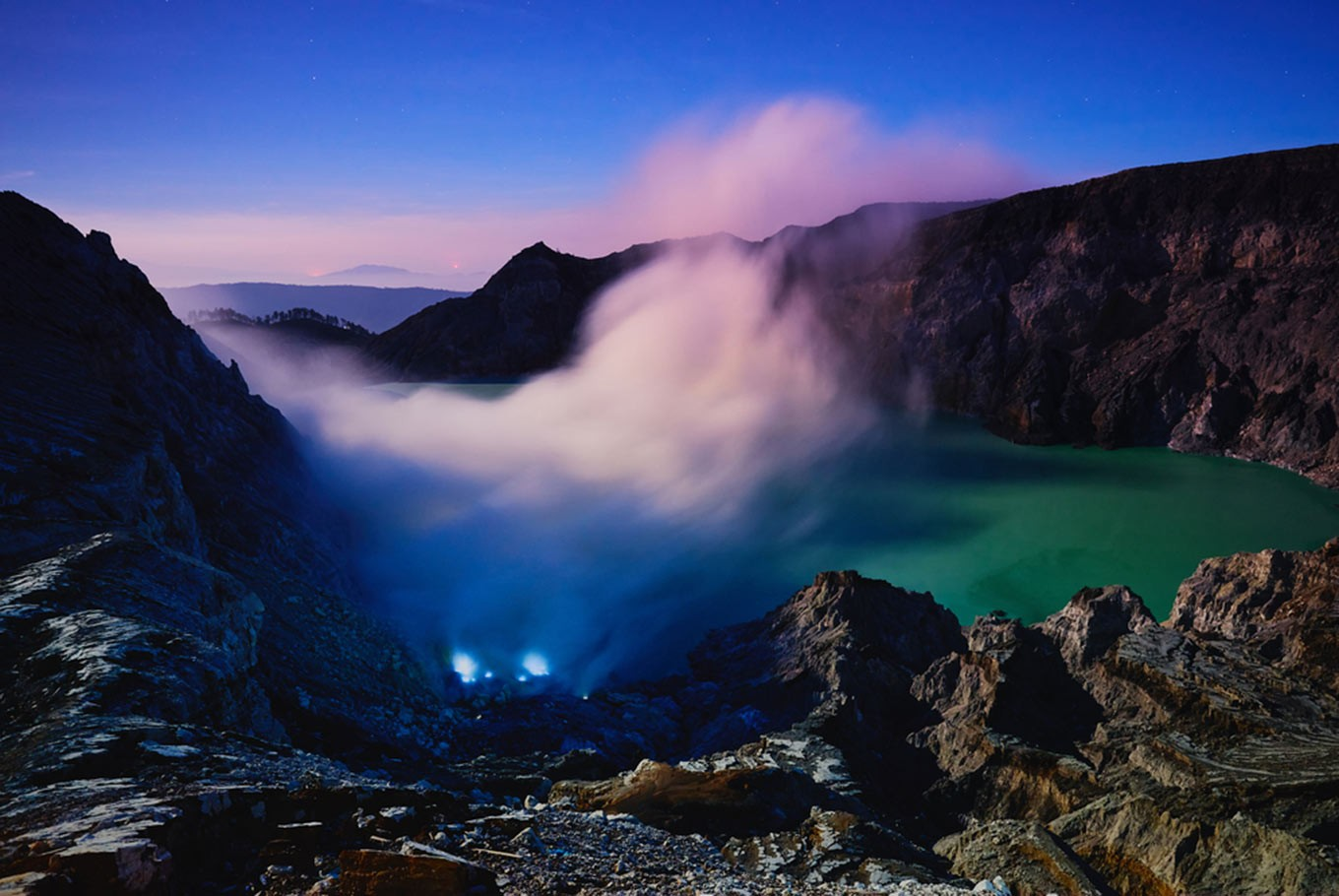 East Java nature parks switch to online ticketing, starting with Mount Ijen