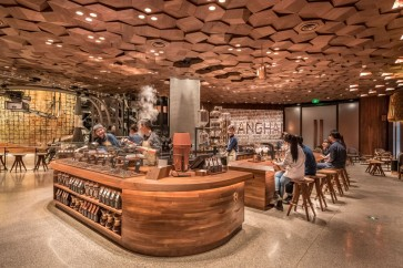 Starbucks plans more mega stores