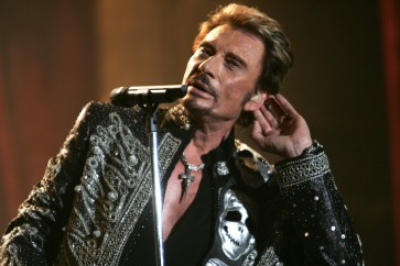 France agog as stars war over rocker Johnny Hallyday's will