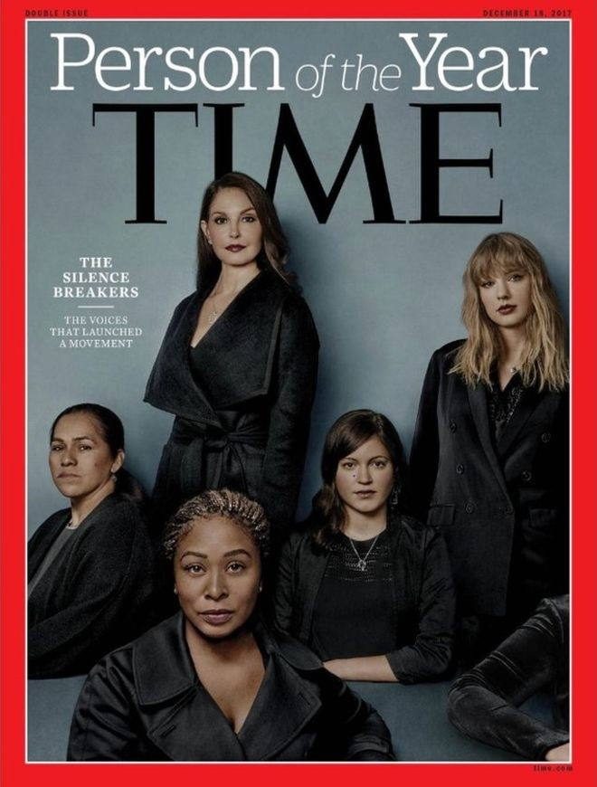 Time names sexual abuse 'Silence Breakers' as Person of the Year