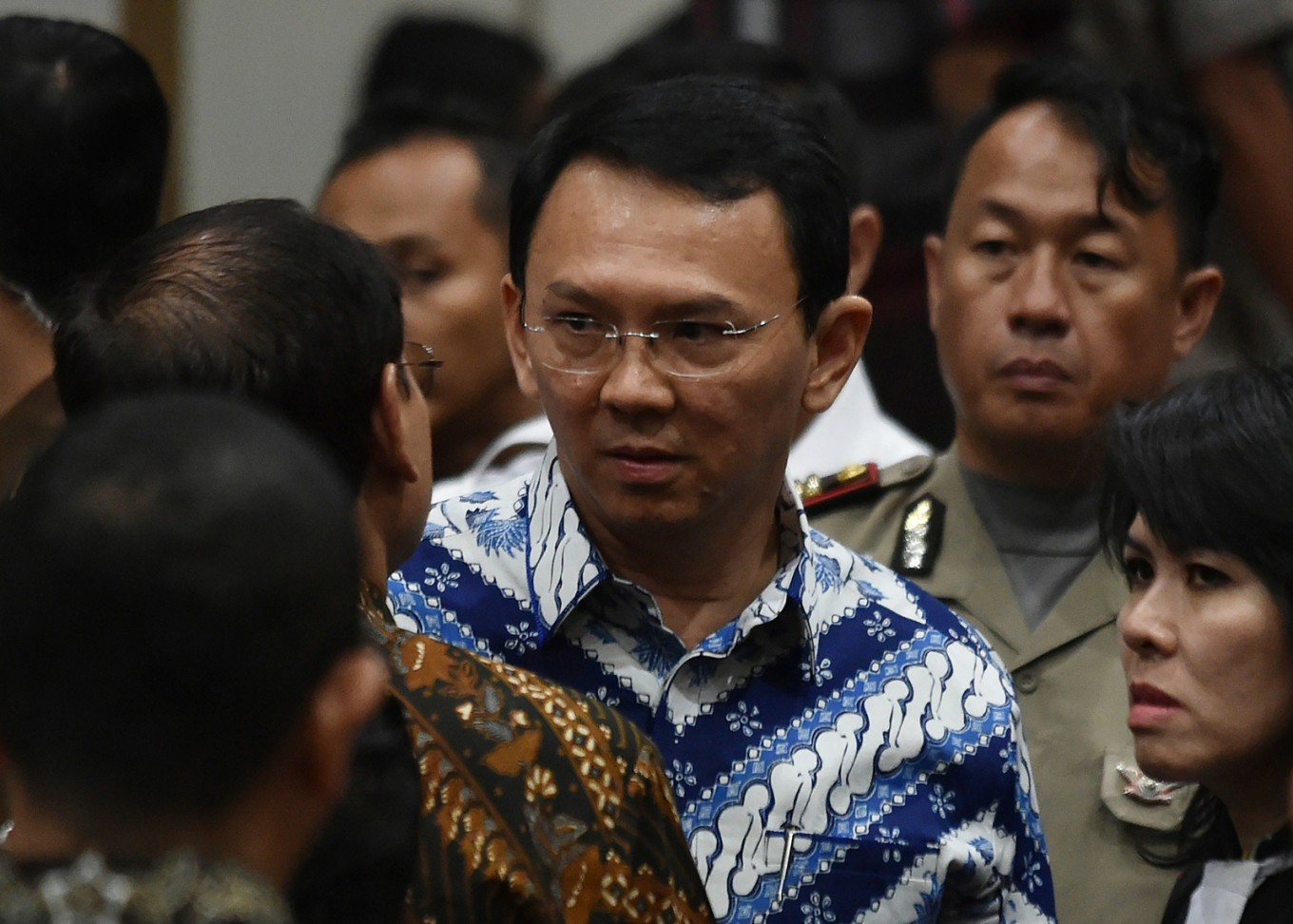 Ahok vows to address wedding rumors upon release