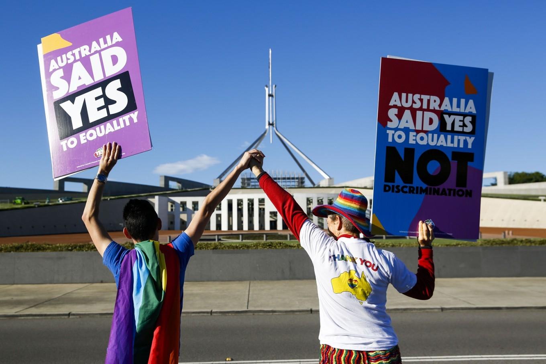 Aussie envoy to Paris pops question after gay marriage vote