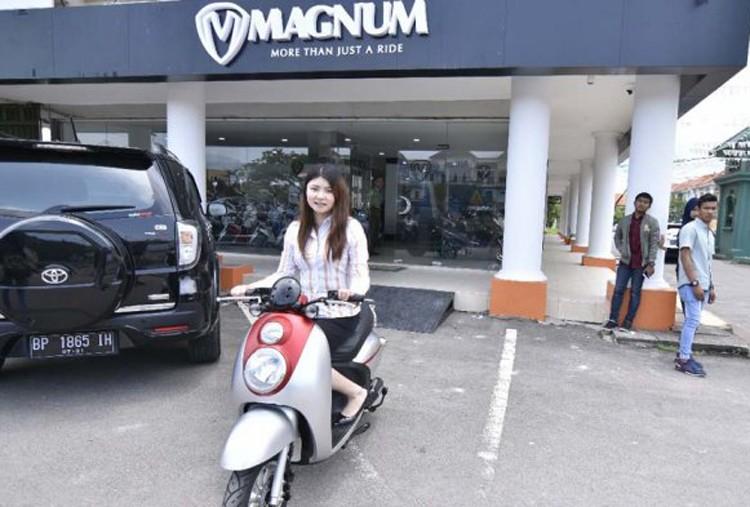 Batam's Magnum Molis launches electric motorcycle