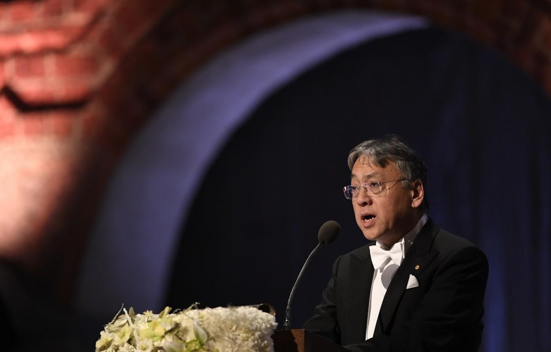 British novelist Ishiguro receives Nobel Prize in literature