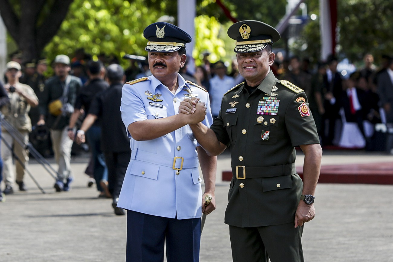 Paddling between challenges: Opportunities for new TNI chief