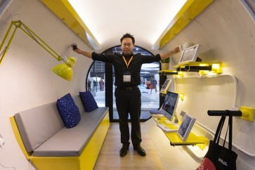 Micro-living housing unit unveiled in Hong Kong