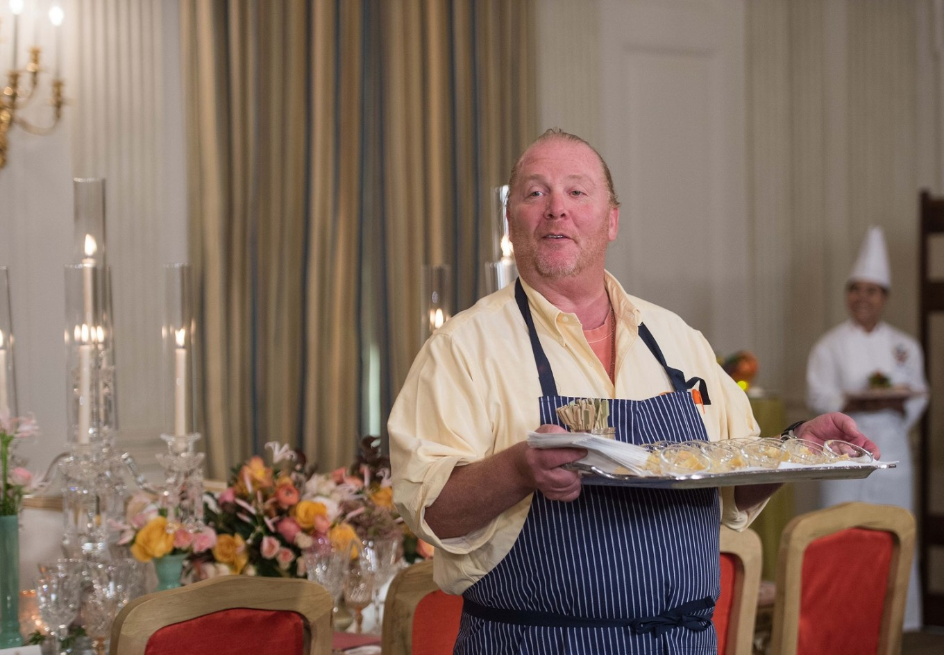 Chef Mario Batali pleads not guilty to sex assault charge