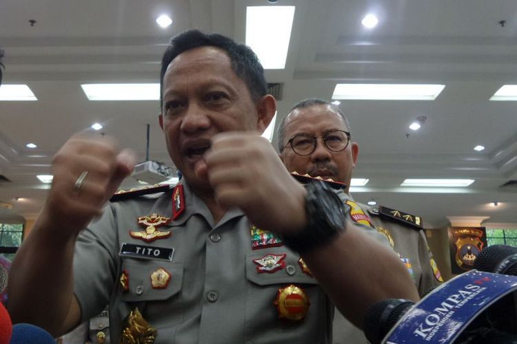 Generals told to resign if granted candidacy status by KPU: National Police