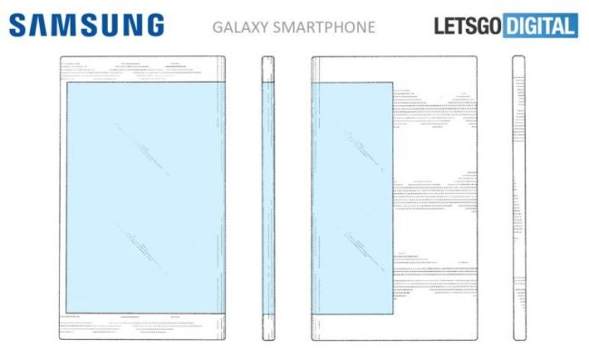 "According to LetsGoDigital, Samsung Display filed a patent application for its ""double-sided"" display smartphone to the United States Patent and Trademark Office in September, 2016."